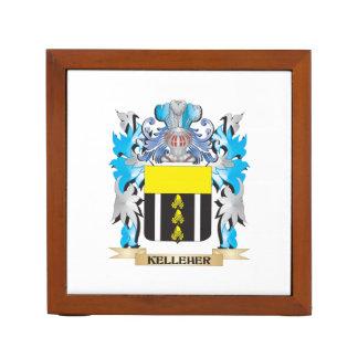Kelleher Coat of Arms - Family Crest Desk Organisers