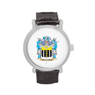 Kelleher Coat of Arms - Family Crest Wrist Watch