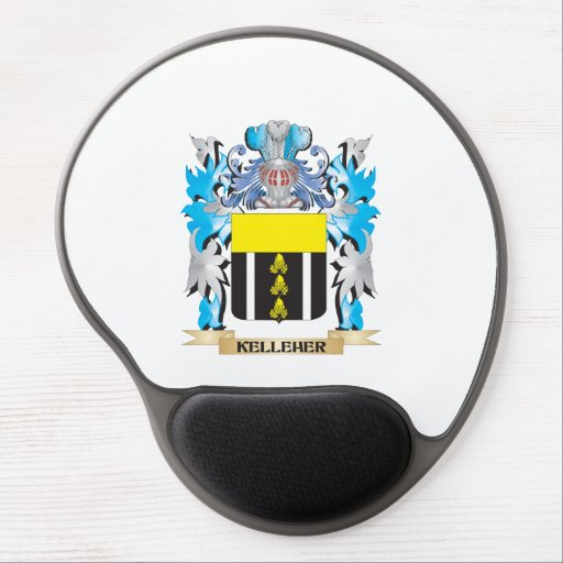 Kelleher Coat of Arms - Family Crest Gel Mouse Mats