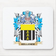Kelleher Coat of Arms - Family Crest Mouse Pad