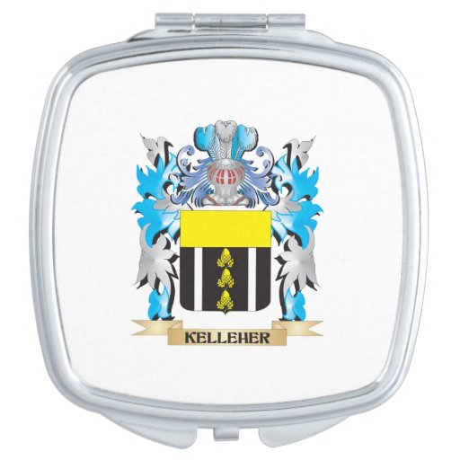 Kelleher Coat of Arms - Family Crest Compact Mirror