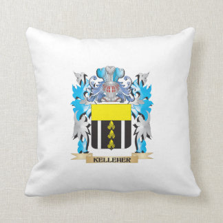 Kelleher Coat of Arms - Family Crest Throw Pillows