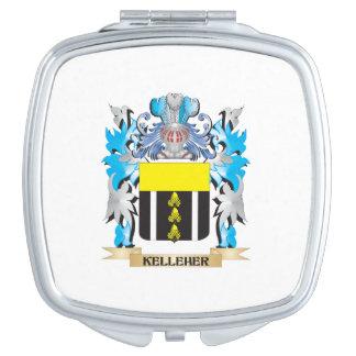 Kelleher Coat of Arms - Family Crest Vanity Mirror