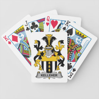 Kelleher Family Crest Bicycle Playing Cards
