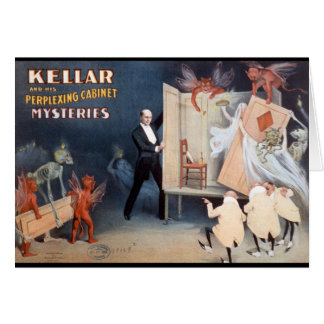 Keller and His Perplexing Cabinet Mysteries Cards