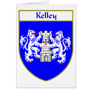 Kelley Coat of Arms/Family Crest Greeting Card