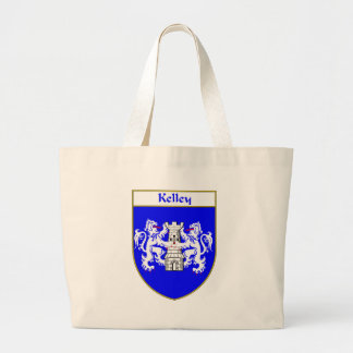 Kelley Coat of Arms/Family Crest Jumbo Tote Bag