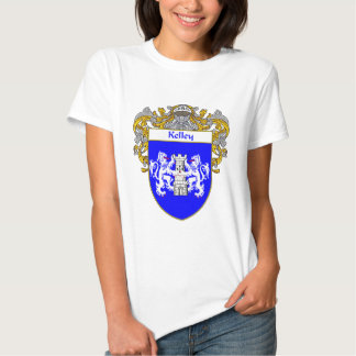 Kelley Coat of Arms (Mantled) T Shirts