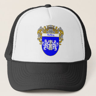Kelley Coat of Arms (Mantled) Trucker Hat