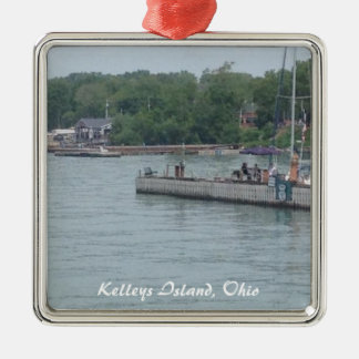 Kelleys Island, OH Boats Photo Christmas Ornament