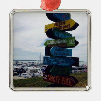 """Kelley's Island"" Ohio Christmas Ornament"