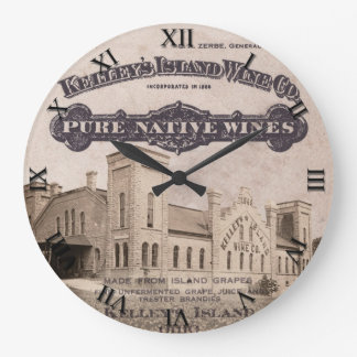Kelleys Island Wine Clock