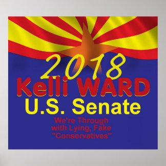Kelli WARD AZ 2018 Poster