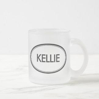 Kellie Frosted Glass Coffee Mug