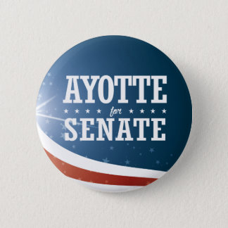 Kelly Ayotte 2016 6 Cm Round Badge