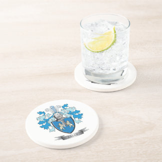 Kelly Coat of Arms Coaster