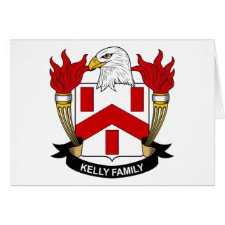 Kelly Family Crest Card