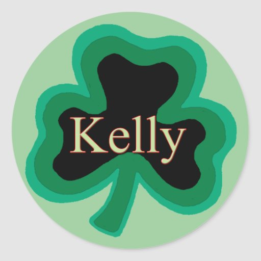 Kelly Family Round Stickers
