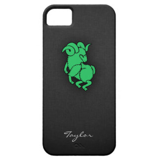 Kelly Green Aries iPhone 5 Cover