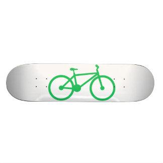 Kelly Green Bicycle Custom Skate Board