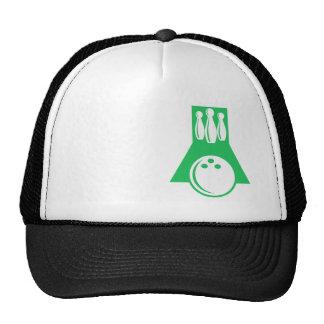 Kelly Green Bowling Trucker Hat
