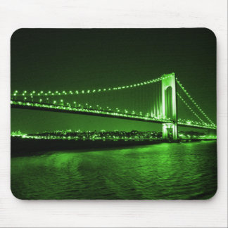 Kelly Green Bridge mousepad