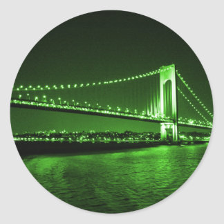 Kelly Green Bridge sticker
