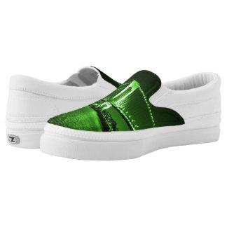 Kelly Green Bridge Z slipons Slip-On Shoes