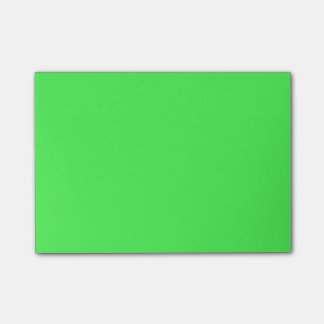 Kelly Green Bright Spring Neon 2015 Color Trend Post-it Notes