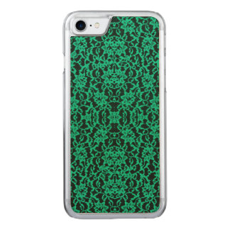 Kelly Green Irish Lace Carved iPhone 8/7 Case
