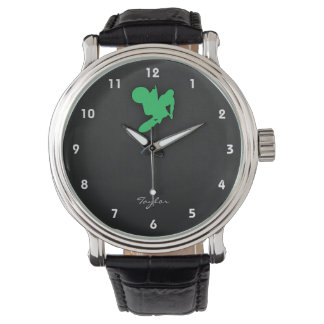 Kelly Green Motocross Wrist Watches