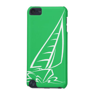 Kelly Green Sailing iPod Touch 5G Covers