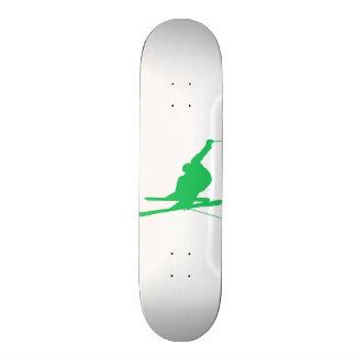 Kelly Green Snow Ski 19.7 Cm Skateboard Deck