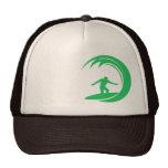 Kelly Green Surfer Hat