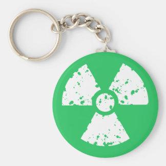 Kelly Green Toxic Waste Key Chain