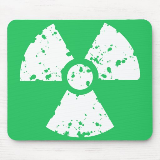 Kelly Green Toxic Waste Mouse Pads