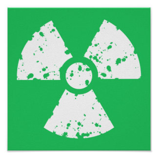 Kelly Green Toxic Waste Posters