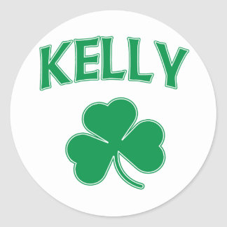 Kelly Irish Classic Round Sticker