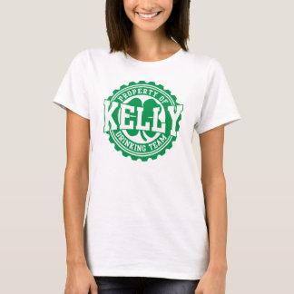 Kelly Irish Drinking Team Bottle Cap T-Shirt