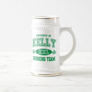 Kelly Irish Drinking Team Coffee Mugs