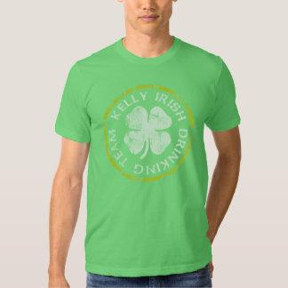 Kelly Irish Drinking Team Shirt