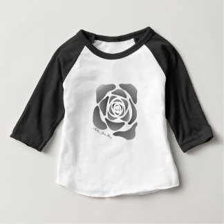 Kelly Jean Rose  Black and White Baby Long Sleeve Baby T-Shirt