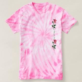 Kelly Jean Rose - Pink Tie Dye T-Shirt (ladies)