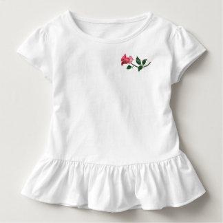Kelly Jean Rose Ruffled T-Shirt