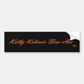 Kelly Kelenic Fine Art.com bumper sticker