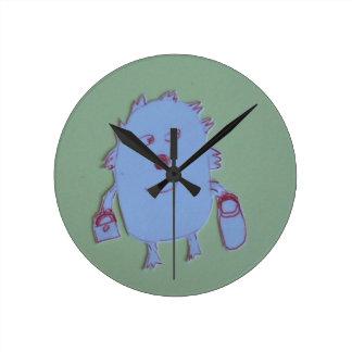 Kelly Round Clock