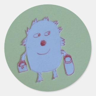 Kelly Round Sticker