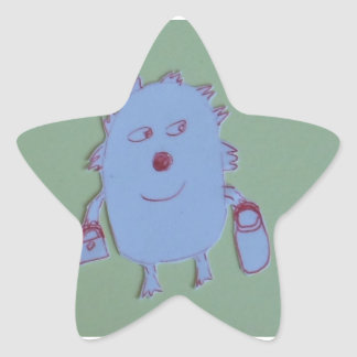 Kelly Star Sticker
