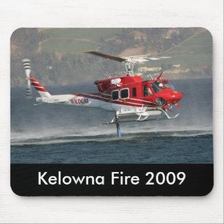 Kelowna Fire 2009 mousepad