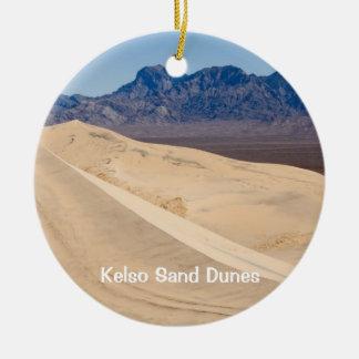 Kelso Sand Dunes Christmas Ornament